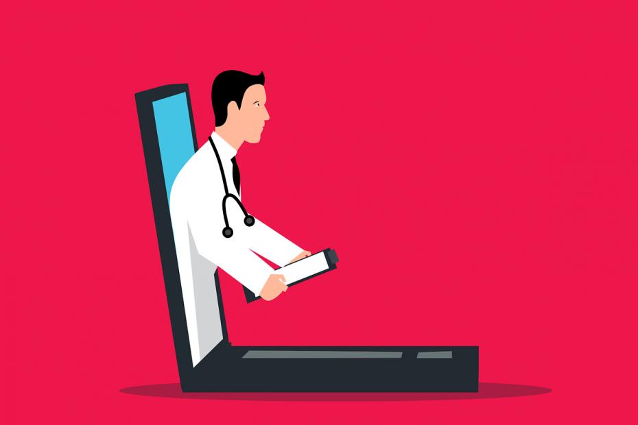 Ein Arzt hat die Expertise, um Hämorrhoiden zu erkennen.