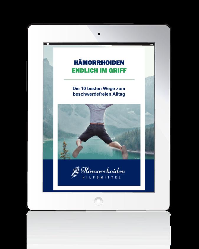 E-Book Cover Hämorrhoiden endlich im Griff